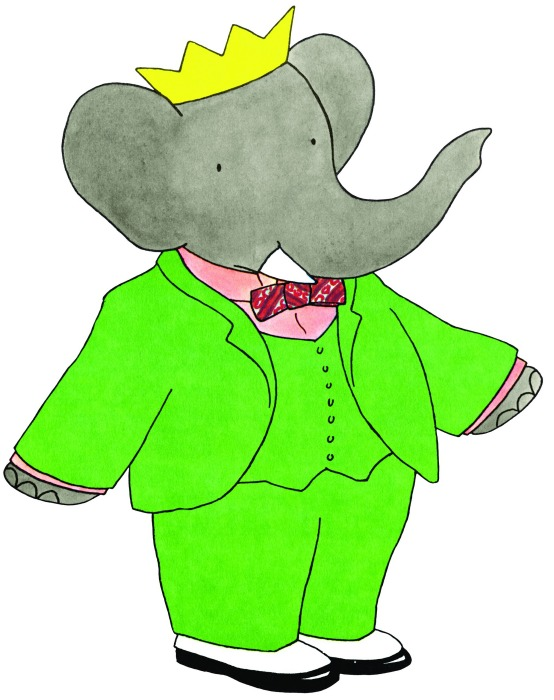 BABAR green suit HQ July14